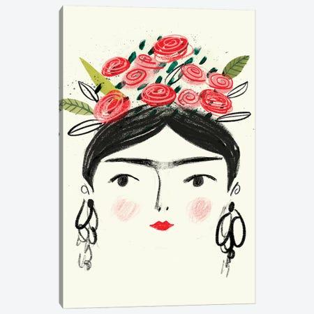 Frida's Dreams II Canvas Print #VBO516} by Victoria Borges Canvas Wall Art