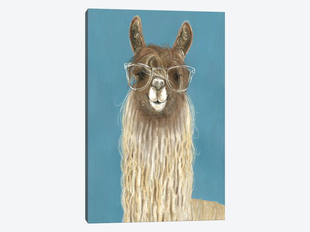 Llama Specs IV by Victoria Borges 1-piece Canvas Art