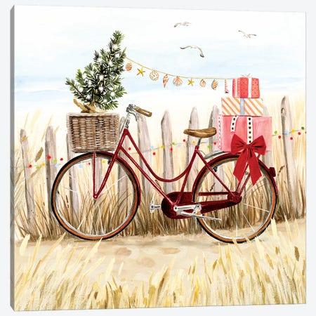 Christmas Coast I Canvas Print #VBO531} by Victoria Borges Canvas Art Print