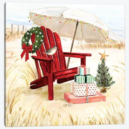 Christmas Coast II Canvas Print #VBO532} by Victoria Borges Canvas Art Print
