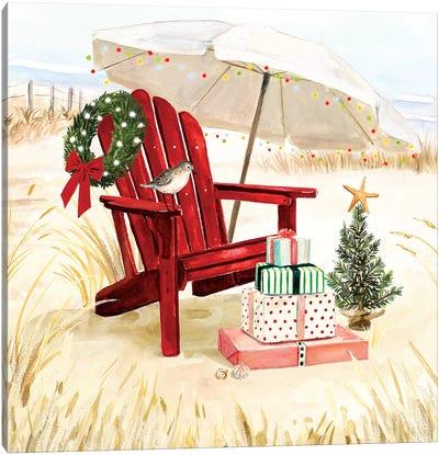 Christmas Coast II Canvas Art Print