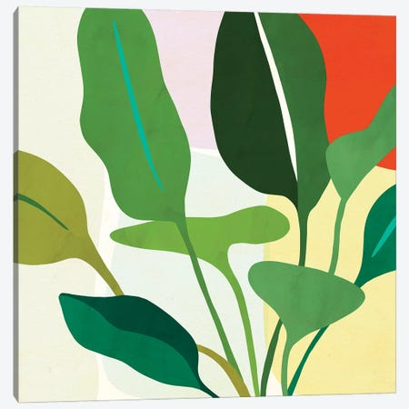 Tropica II Canvas Print #VBO540} by Victoria Borges Canvas Art