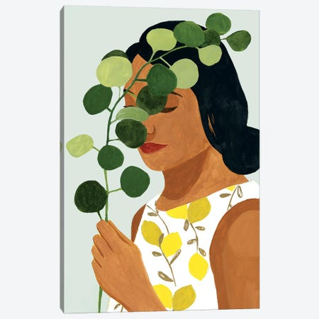 Botany Portrait II Canvas Print #VBO544} by Victoria Borges Canvas Print