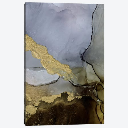 Amethyst and Umber II Canvas Print #VBO551} by Victoria Borges Canvas Print