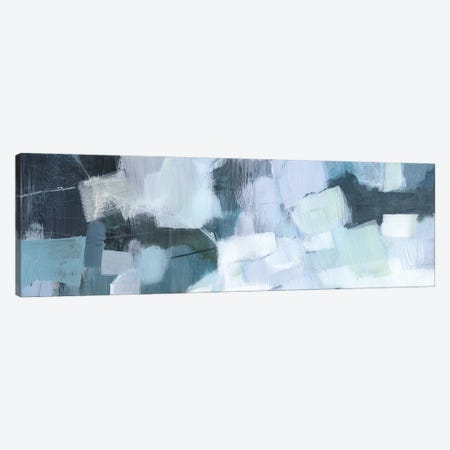 Blue Deluge I Canvas Print #VBO554} by Victoria Borges Canvas Artwork