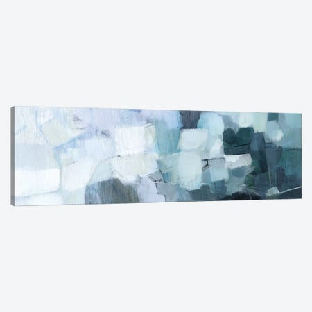 Blue Deluge II Canvas Print #VBO555} by Victoria Borges Canvas Art