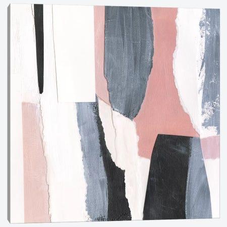 Blush & Onyx II Canvas Print #VBO557} by Victoria Borges Canvas Artwork