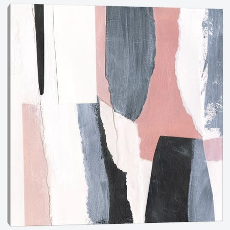 Blush & Onyx II Canvas Print #VBO557} by Victoria Borges Canvas Artwork
