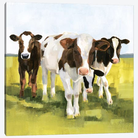 Grazers II 3-Piece Canvas #VBO583} by Victoria Borges Canvas Art
