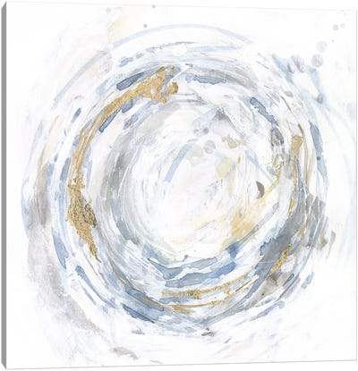 Halcyon Whirl I Canvas Art Print
