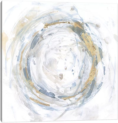 Halcyon Whirl II Canvas Art Print