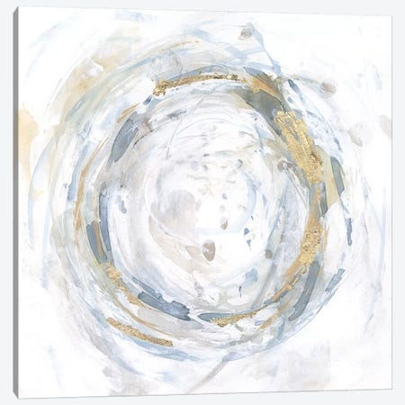 Halcyon Whirl II Canvas Print #VBO585} by Victoria Borges Canvas Print