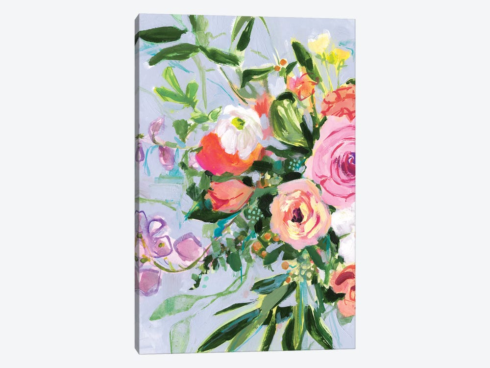 Mottled Flora I by Victoria Borges 1-piece Canvas Wall Art