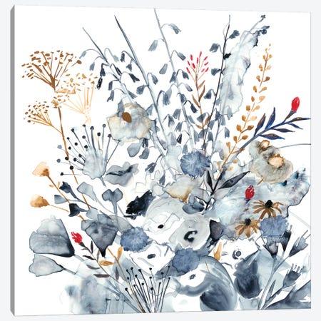 Indigo & Ochre I Canvas Print #VBO5} by Victoria Borges Canvas Wall Art