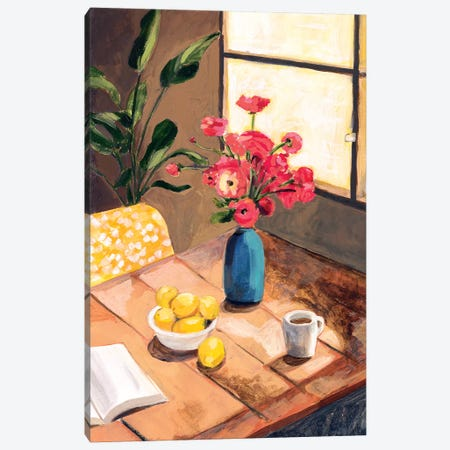 Tabletop II Canvas Print #VBO625} by Victoria Borges Canvas Artwork