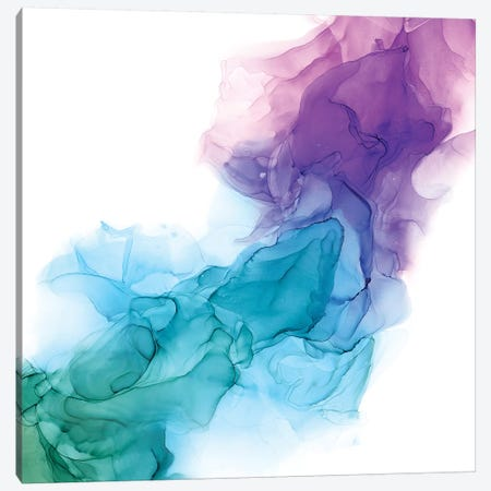 Vibrant Veil I Canvas Print #VBO630} by Victoria Borges Canvas Art