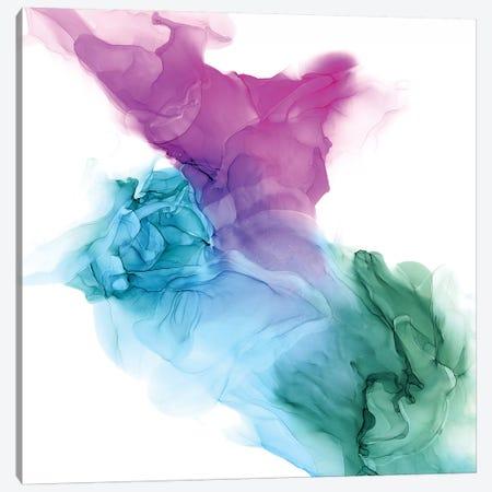Vibrant Veil II Canvas Print #VBO631} by Victoria Borges Canvas Wall Art
