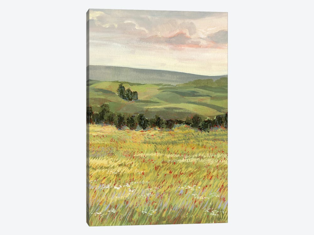 Morning Meadow I by Victoria Borges 1-piece Canvas Wall Art