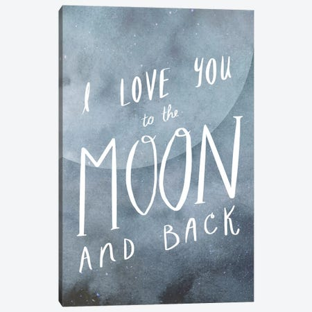 Celestial Love Collection B Canvas Print #VBO645} by Victoria Borges Canvas Wall Art