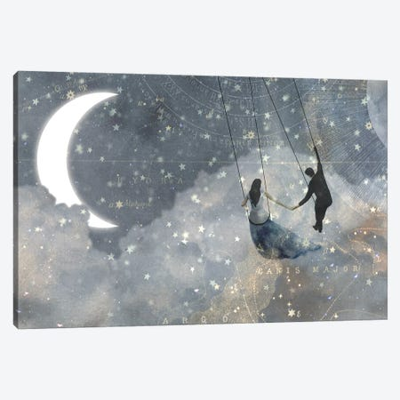 Celestial Love Collection D Canvas Print #VBO646} by Victoria Borges Canvas Art