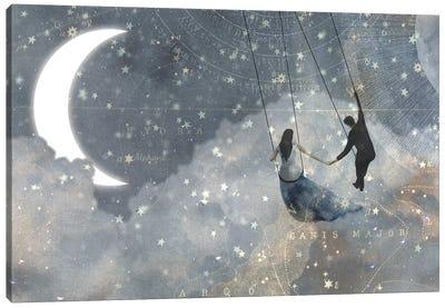 Celestial Love Collection D Canvas Art Print