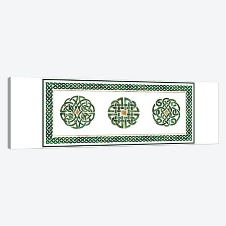 Celtic Knot Collection D Canvas Print #VBO649} by Victoria Borges Art Print
