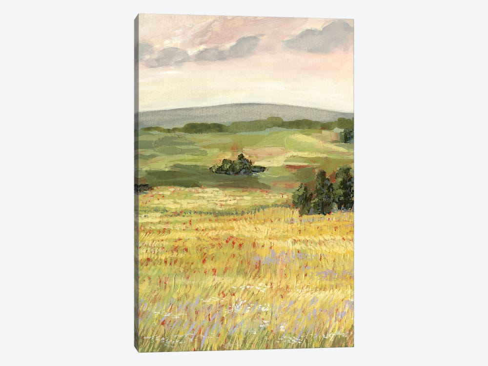 Morning Meadow II by Victoria Borges 1-piece Canvas Art Print