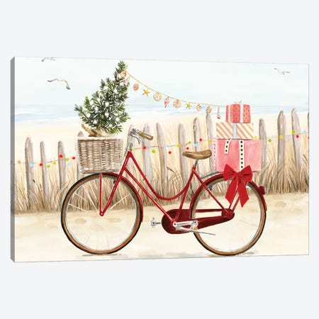 Christmas Coast Collection A Canvas Print #VBO667} by Victoria Borges Canvas Artwork