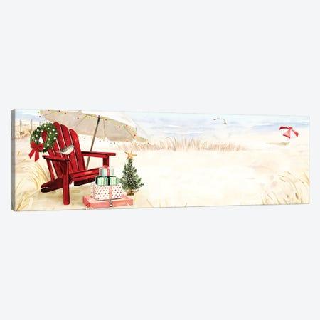 Christmas Coast Collection D 3-Piece Canvas #VBO670} by Victoria Borges Canvas Artwork