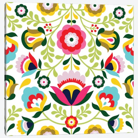 Cinco de Mayo Collection H Canvas Print #VBO673} by Victoria Borges Canvas Wall Art
