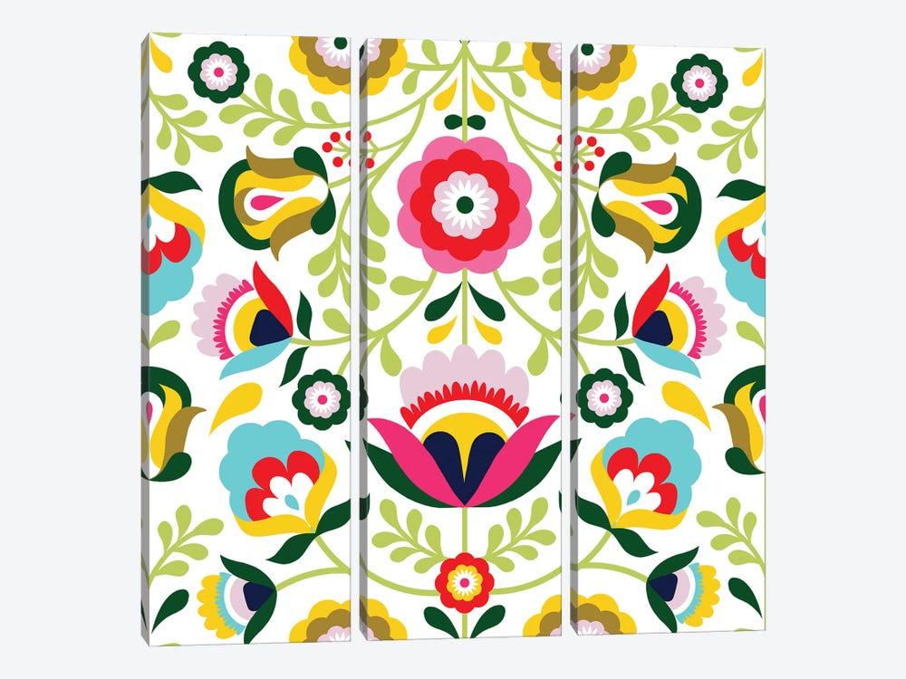Cinco de Mayo Collection H by Victoria Borges 3-piece Canvas Print