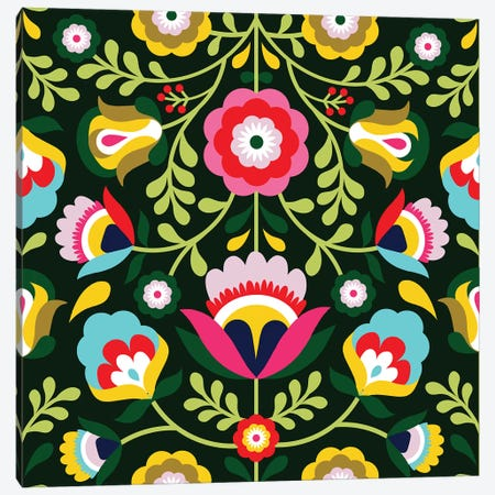 Cinco de Mayo Collection I Canvas Print #VBO674} by Victoria Borges Canvas Art Print