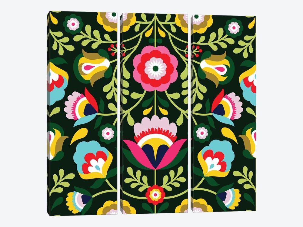 Cinco de Mayo Collection I by Victoria Borges 3-piece Canvas Art