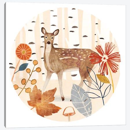 Cozy Autumn Collection C Canvas Print #VBO677} by Victoria Borges Art Print