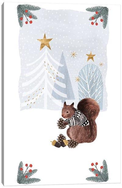 Cozy Christmas Collection B Canvas Art Print
