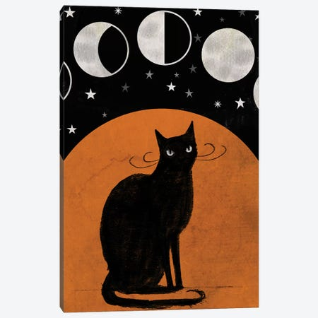 Mystic Moon Collection B 3-Piece Canvas #VBO704} by Victoria Borges Art Print