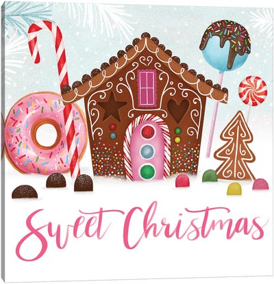 Sweet Holidays Collection A Canvas Art Print