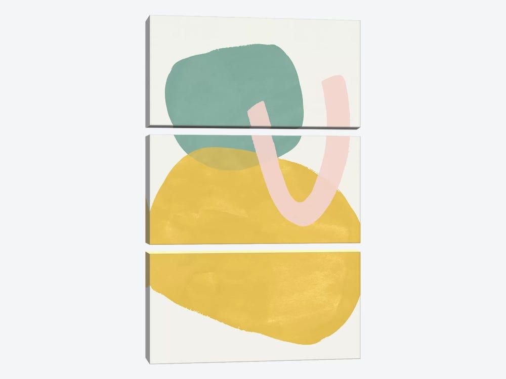 Cirque III by Victoria Borges 3-piece Canvas Print