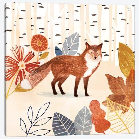 Cozy Autumn Woodland I Canvas Print #VBO758} by Victoria Borges Canvas Print