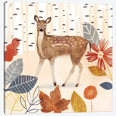 Cozy Autumn Woodland II Canvas Print #VBO759} by Victoria Borges Art Print