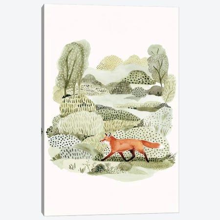Fox Glen II Canvas Print #VBO769} by Victoria Borges Canvas Artwork