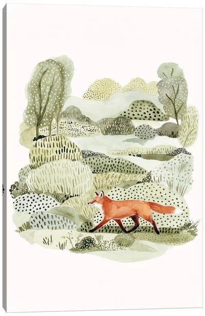 Fox Glen II Canvas Art Print