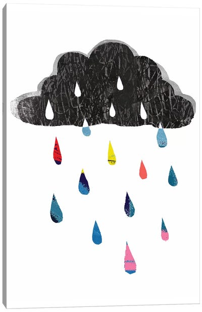 Rainy Day Rainbow I Canvas Art Print