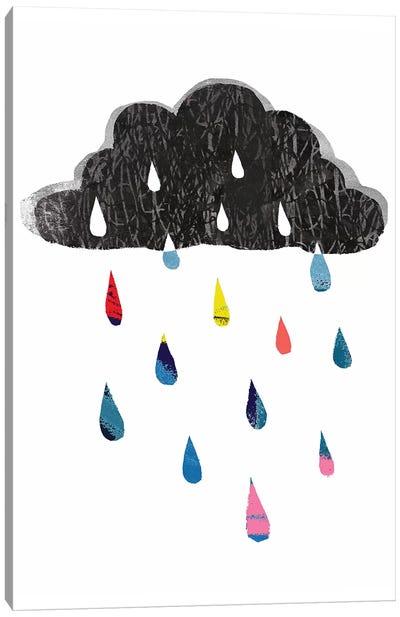 Rainy Day Rainbow I Canvas Art Print