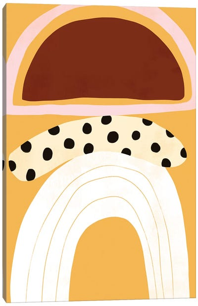 Banana Split I Canvas Art Print