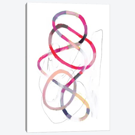 Polychrome Tangle I Canvas Print #VBO81} by Victoria Borges Art Print