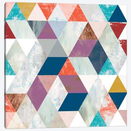 Bright Mosaic I Canvas Print #VBO821} by Victoria Borges Canvas Art Print