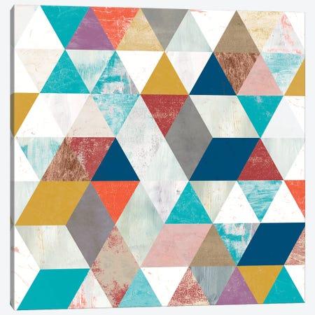 Bright Mosaic II Canvas Print #VBO822} by Victoria Borges Canvas Print