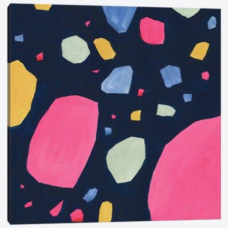 Bright Terrazzo I Canvas Print #VBO823} by Victoria Borges Art Print
