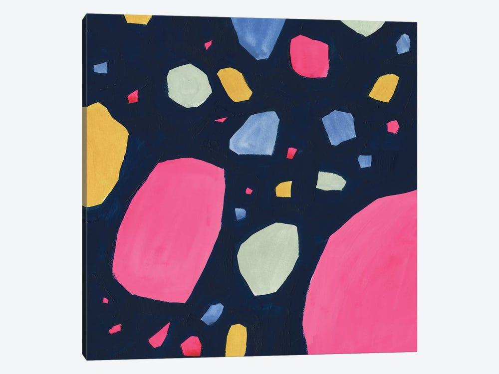 Bright Terrazzo I by Victoria Borges 1-piece Canvas Print